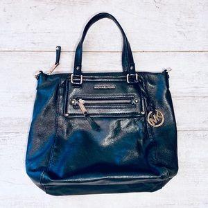 Michael Kors BLACK stud embellished shoulder bag
